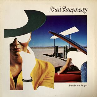Bad Company ‎- Desolation Angels (LP) (VG/G-VG)